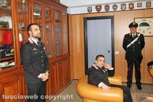 Viterbo - La conferenza stampa dell'operazione Birretta - Federico Lombardi e Marcello Egidio