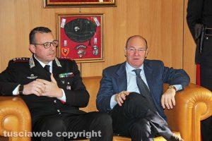 Viterbo - La conferenza stampa dell'operazione Birretta - Giuseppe Palma e Paolo Auriemma