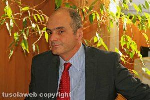 Viterbo - La conferenza stampa dell'operazione Birretta - Il pm Stefano d'Arma