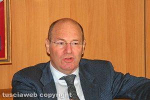 Viterbo - La conferenza stampa dell'operazione Birretta - Il procuratore capo Paolo Auriemma