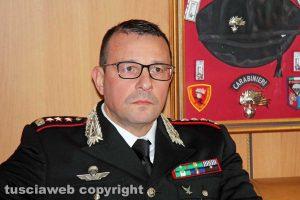 Viterbo - La conferenza stampa dell'operazione Birretta - Il comandante Giuseppe Palma
