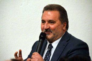 Il consigliere regionale Enrico Panunzi nel suo intervento