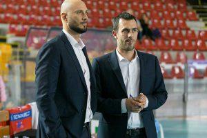 Sport - Pallavolo - Scarabeo Gcf -Il duo tecnico Spanakis - Pastore