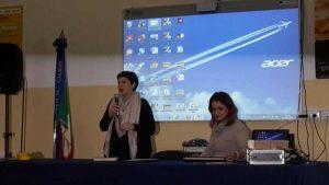 La consigliera comunale Guiducci e la preside Proli