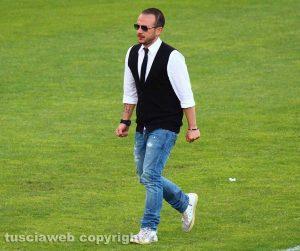 Sport - Calcio - Luca Serafinelli, presidente del Ronciglione united