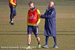 Sport - Calcio - Viterbese - Elio Calderini e Stefano Sottili