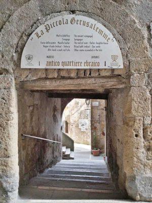 Quartiere ebraico a Pitigliano