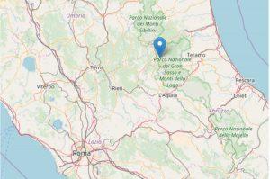 Scossa di terremoto di magnitudo 3,6 ad Amatrice