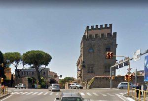Viterbo - L'incrocio di viale Raniero Capocci