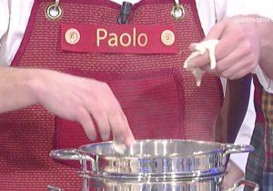 Paolo Bianchini alla Prova del cuocoPaolo Bianchini alla Prova del cuoco