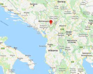 Balcani - Terremoto in Montenegro