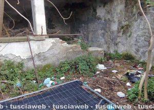 Viterbo - Il lavatoio a via Signorelli