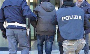 Polizia - Un arresto
