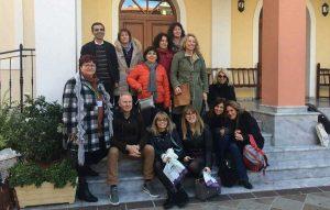 I docenti che hanno partecipato all'Erasmus