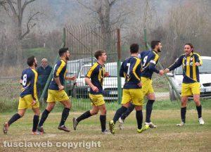 Sport - Calcio - Vigor Acquapendente - La squadra in campo