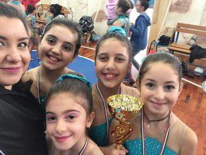 Le ginnaste al trofeo Tuscia