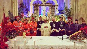 Tarquinia - Ordine di Malta e Cisom alla festa del battesimo