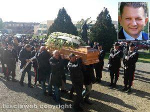 Tuscania - I funerali di Massimo Franceschini