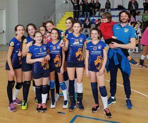 Sport - Pallavolo - La Vbc under 13 a Cesenatico