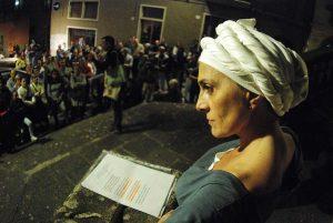 Viterbo - La Banda del racconto in scena con la Bella Galiana