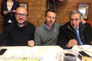 Tuscania - Rotelli, Bartolacci e Gasparri