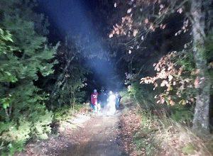 Bomarzo - Coppia si perde nel bosco