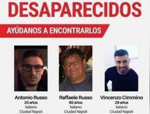 Messico - I tre italiani scomparsi
