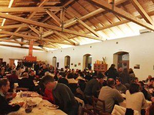 Valle del Mignone - Cena ambientalisti pro ricorso al Tar