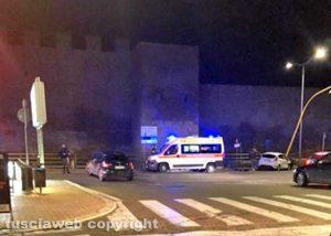 L'incidente di ieri sera al semaforo di piazza Crispi