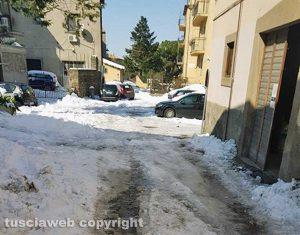 Viterbo - Neve - Via San Tommaso