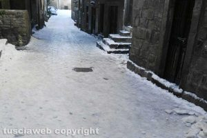 Viterbo - Neve - Via San Pellegrino