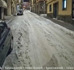 Viterbo - Via Garibaldi stamani presto
