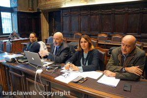 Viterbo - Sonia Perà alla presentazione del Piano per il commercio