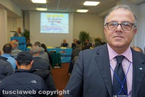 Viterbo - Il segretario Francesco Palese