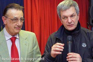 Viterbo - Luciano Barozzi e don Flavio