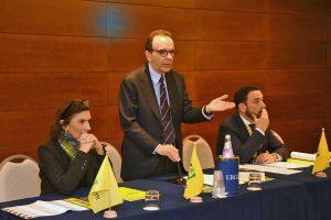 Roma - Sergio Caci all'incontro tra Parisi e la Coldiretti