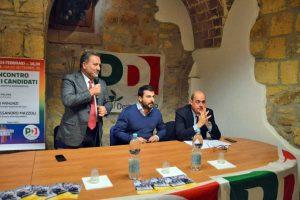 Tarquinia - Panunzi, Palmini e Zingaretti