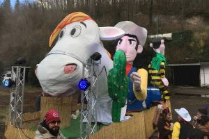 Capranica - La sfilata di Carnevale