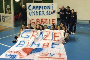 Sport - Pallavolo - Sporting Viterbo - Le ragazze dell'under 14
