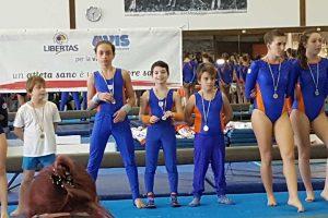 Sport - Gnnastica artistica - Il trofeo Libertas