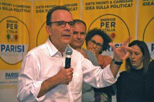 Stefano Parisi a Pescia Romana