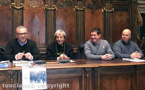 Viterbo - Silvio Cappelli, Antonio Delli Iaconi, Luca Pallotta e Angelo Topi