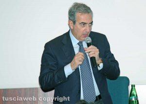 Viterbo - Maurizio Gasparri alla presentazione dei candidati di Forza Italia in parlamento