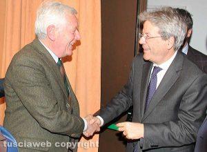 Leonardo Michelini e Paolo Gentiloni