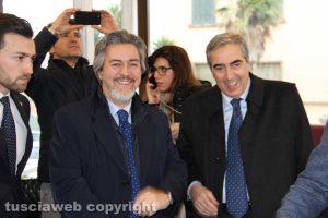 Francesco Battistoni e Maurizio Gasparri