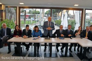 Forza Italia - La presentazione dei candidati alle politiche 2018