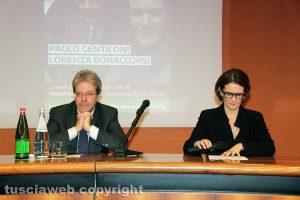 Paolo Gentiloni e Lorenza BonaccorsiPaolo Gentiloni e Lorenza Bonaccorsi