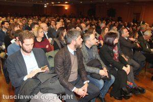 Viterbo - L'incontro con Paolo Gentiloni e Lorenza Bonaccorsi