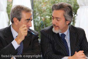 Maurizio Gasparri e Francesco Battistoni