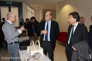 Nicola Zingaretti con Francesco Bigiotti
